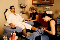 Spa for Men Vancouver, Men's Manicure Vancouver, manicure for men Vancouver BC, mens manicure and pedicure Vancouver BC