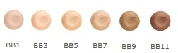 Jane Iredale BB Cream colour choices