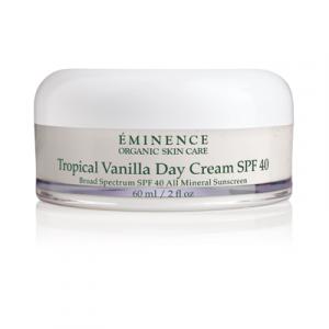 tropical vanilla 40 Eminence organic spf Vancouver