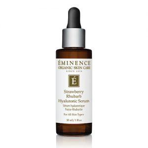 Eminence organic facial kitsilano, Eminence Organics Vancouver, Eminence Organic Skin Care Vancouver Strawberry Rhubarb Hyaluronic Serum