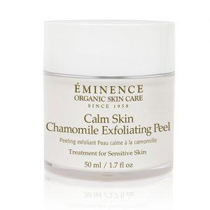 Eminence organic facial kitsilano, Eminence Organics Vancouver, Eminence Organic Skin Care Vancouver Calm Skin Chamomile Exfoliating Peel