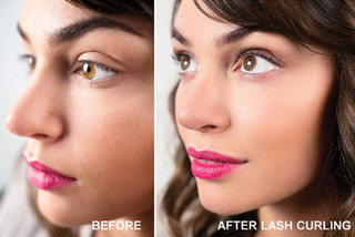 lash tint in Vancouver BC, eyelash lift and tinting in Vancouver