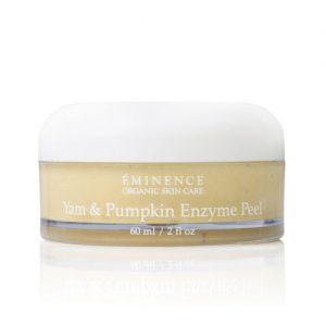eminence organics yam pumpkin enzyme peel, organic spa vancouver