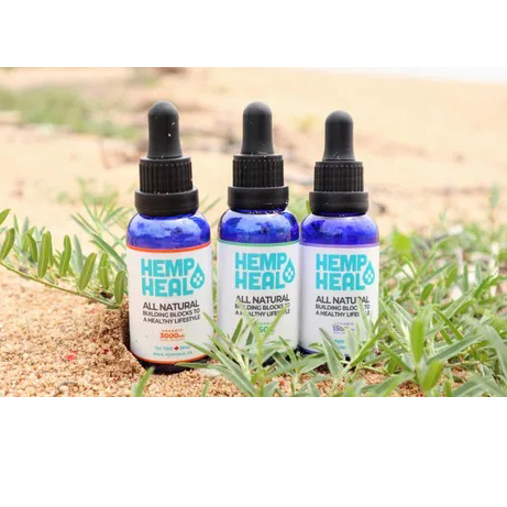 Hemp Heal Organic CBD Oil - 3000mg