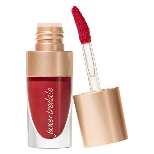 red lip stains online, jane iredale lip stain longing